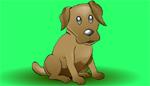 Animated dog Barking