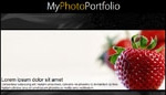 Vertical Photo Portfolio Site