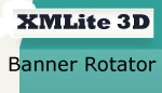 XMLite Flash 3D Banner Rotator