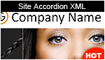 Site Accordion XML