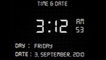 Show and Hide Digital Clock