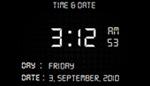 Show and Hide Digital Clock