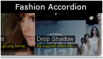 Fashion Accordion with Drop Shadow