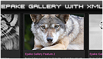 EPAKE Image Gallery with XML