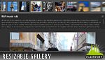 Versatile Resizable Gallery