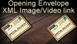 Opening Envelope with XML Video and Image link