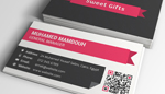 Gift Shop Business Card