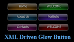 XML Driven Glow Button