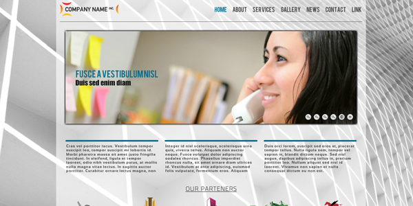 Company Template - click for preview