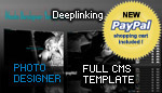 Photo CMS  1.65 Template SEO with PAYPAL shopping Cart