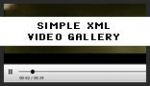 Simple XML video player - flv gallery
