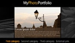 Horizontal Photo Portfolio Site