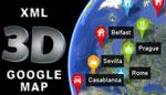 XML 3D Google Map