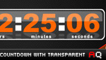 CountDown with Transparent