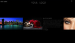 Photographer Scroller XML Flash Website Template