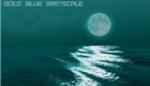 Golden Aura Moonlight Ocean Ripples