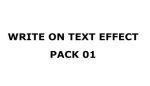 WRITE ON TEXT EFFECT PACK 1