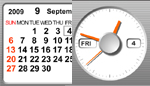 Flash Clock and Calendar